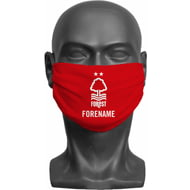 Personalised Nottingham Forest FC Crest Adult Face Mask