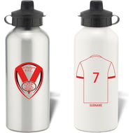 Personalised St Helens Aluminium Sports Water Bottle