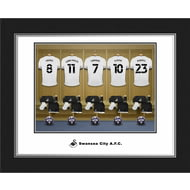 Personalised Swansea City AFC Dressing Room Shirts Photo Folder