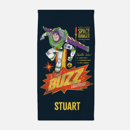 Personalised Toy Story 4 Kids Towel - Buzz Lightyear