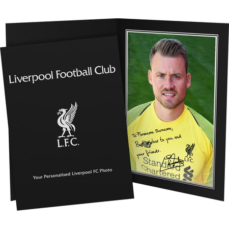 Personalised Liverpool FC Mignolet Autograph Photo Folder