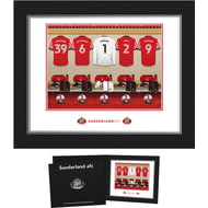 Personalised Sunderland AFC Goalkeeper Dressing Room Shirts Photo Folder