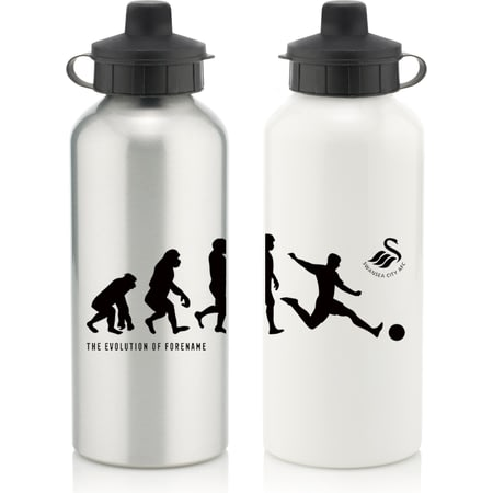 Personalised Swansea City FC Evolution Water Bottle