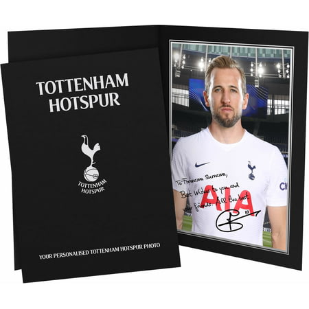 Personalised Tottenham Hotspur FC Kane Autograph Photo Folder