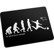Personalised Derby County Evolution Mouse Mat