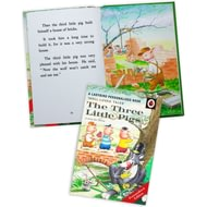 Personalised The Three Little Pigs Classic Ladybird Book