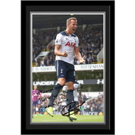 Personalised Tottenham Hotspur FC Kane Autograph Photo Framed