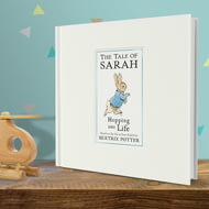 Personalised Peter Rabbit's Personalised Hopping Into Life Book