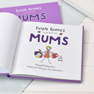 Personalised Purple Ronnie's Little Poems For Mums