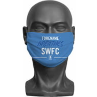 Personalised Sheffield Wednesday FC Breathes Adult Face Mask