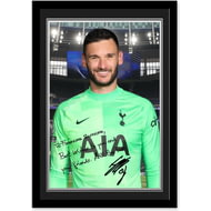 Personalised Tottenham Hotspur Lloris Autograph Photo Framed