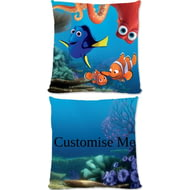 Personalised Disney Finding Dory Group Scene Cushion - 45x45cm