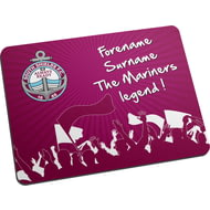 Personalised South Shields FC Legend Mouse Mat