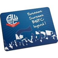 Personalised Bolton Wanderers FC Legend Mouse Mat