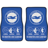 Personalised Brighton & Hove Albion FC Way Front Car Mats
