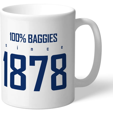 Personalised West Bromwich Albion FC 100 Percent Mug