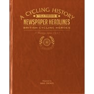 Personalised British Cycling Heroes Historic Newspaper Book