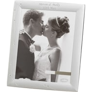 Personalised Diamante Swirl 6x4 Photo Frame