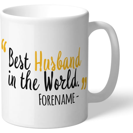 Personalised Wolves FC Best Husband In The World Mug