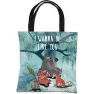 Personalised Disney The Jungle Book 'I Wanna Be Like You' Tote Bag