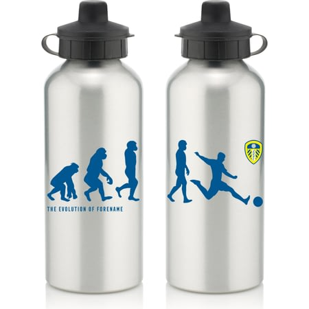 Personalised Leeds United FC Evolution Water Bottle