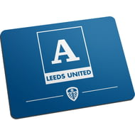 Personalised Leeds United FC Monogram Mouse Mat
