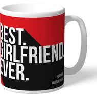 Personalised Sunderland AFC Best Girlfriend Ever Mug