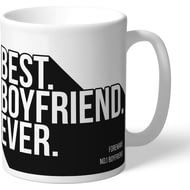 Personalised Swansea City Best Boyfriend Ever Mug
