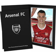 Personalised Arsenal FC Xhaka Autograph Photo Folder