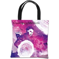 Personalised Marvel Doctor Strange 'Galaxy' Tote Bag