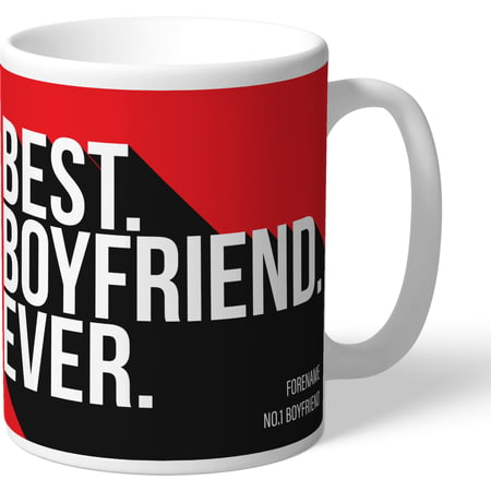 Personalised Sheffield United Best Boyfriend Ever Mug