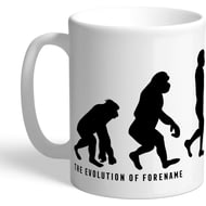 Personalised Swansea City Evolution Mug