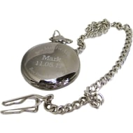 Personalised Best Man For A Day Pocket Watch & Tin