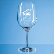 Personalised Scunthorpe United FC Crest 480ml Wine Glass