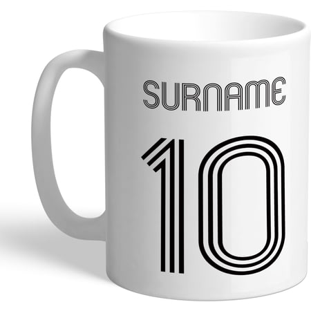 Personalised Swansea City Retro Shirt Mug