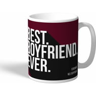 Personalised West Ham United Best Boyfriend Ever Mug