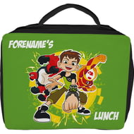 Personalised Ben 10 Insulated Lunch Bag - Black