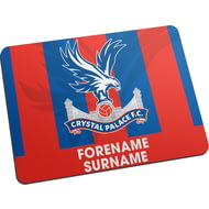 Personalised Crystal Palace FC Bold Crest Mouse Mat