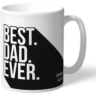 Personalised Derby County Best Dad Ever Mug