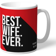 Personalised Liverpool FC Best Wife Ever Mug