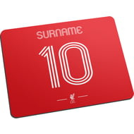 Personalised Liverpool FC Retro Shirt Mouse Mat