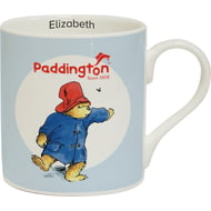 Personalised Paddington Bear Ceramic Mug