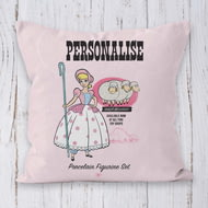 Personalised Toy Story 4 Bo Peep Vintage Cushion - 45x45cm