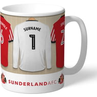 Personalised Sunderland AFC Goalkeeper Dressing Room Shirts Mug