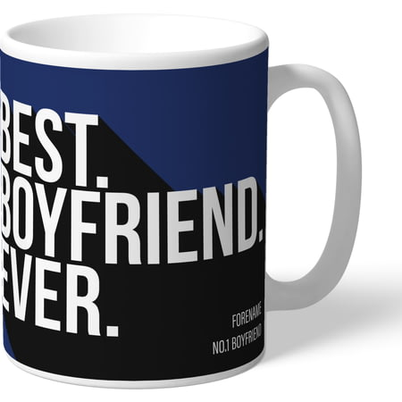 Personalised West Bromwich Albion Best Boyfriend Ever Mug