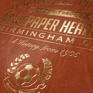 Personalised Birmingham City Football Newspaper Book - Leatherette Cover