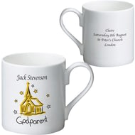 Personalised Church Godparent Ceramic Mug