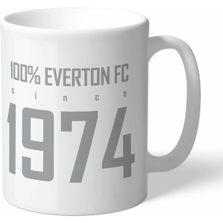 Personalised Everton FC 100 Percent Mug