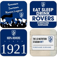 Personalised Featherstone Rovers Coasters
