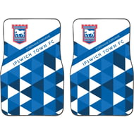 Personalised Ipswich Town FC Patterned Front Car Mats